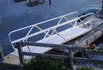 "Aluminum gangway - the ""wave"""